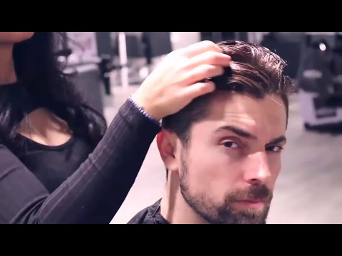 Best Party Hairstyle Kochi Faraj Hot Hair Dresser For Modern Men