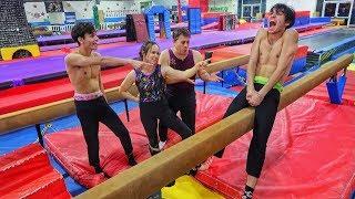 Funny gymnastics..