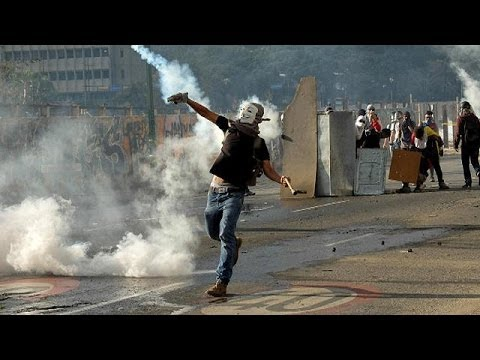 Student shot dead during Venezuela opposition protest