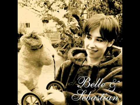 Belle & Sebastian dog on wheels