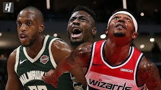 Milwaukee Bucks vs Washington Wizards - Full Game Highlights | October 13, 2019 | 2019 NBA Preseason
