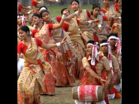 Bihu Dance Fastival Of Assam video