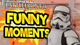 Star Wars Battlefront 2 Funny & Random Moments [FUNTAGE] #27  - The Return Of The Memes
