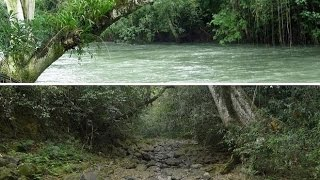 THE ATOYAC RIVER VANISHES OVERNIGHT IN MEXICO MARCH 7, 2016