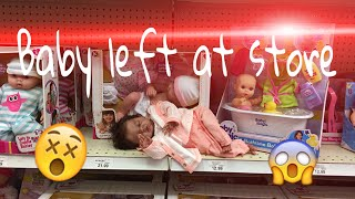 Preemie Baby Left At Store! First Outing For Reborn Baby! TWOZIES! Shopping! Life Like Baby Doll!