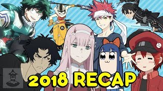 Every 2018 Anime (We Watched) | Get In The Robot