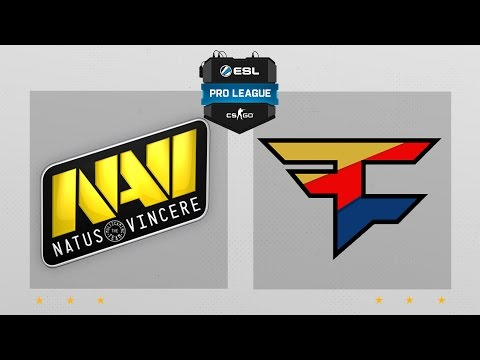 CS:GO - NaVi vs.FaZe [Dust2] Map 2 - ESL Pro League Season 4 - EU Matchday 27