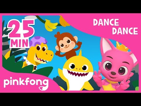 Baby Shark Dance and more   Dance Dance Pinkfong   +Compilation   Pinkfong Songs for Children