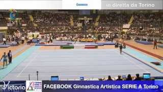 2a Prova Serie A1-A2 Ginnastica Artistica Torino 8 marzo 2014