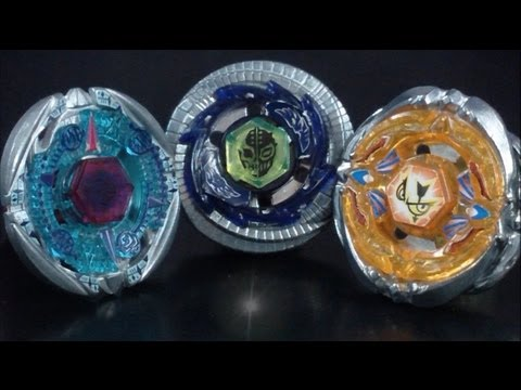 Triple Beyblade Battle (The Highest Beyblade - Byxis VS Uranus VS Sagittario) HD! EPIC AWESOME