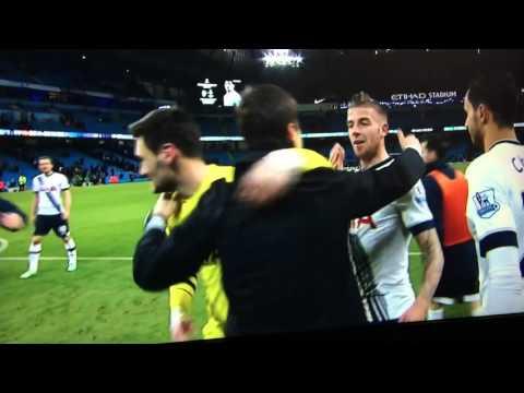 Tottenham Celebrations Post Man City Away