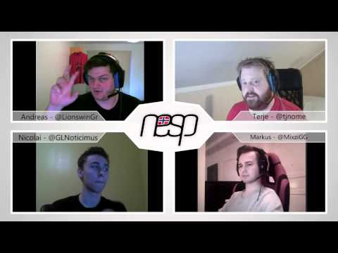Norsk e-Sport Podcast #14 - Mixzi og Noticimus