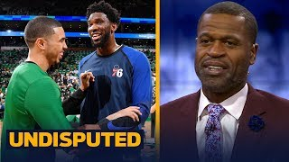 Stephen Jackson reacts to Celtics vs. Sixers, talks Warriors' biggest competition | NBA | UNDISPUTED