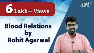 Blood Relations by Rohit Agarwal Reasoning Tricks TalentSprint