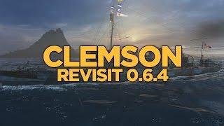 World of Warships - Clemson Revisit 0.6.4