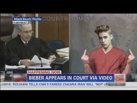 Justin Bieber Court Sentencing - DUI And More!