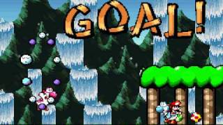 Super Mario World 2: Yoshi's Island TAS in 1:33:40.18 by Carl Sagan