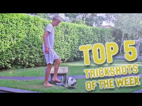 TOP 5 Soccer Football Trickshots I WEEK #01 2014