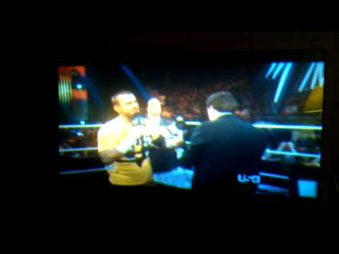 The Miz and CM punk talk about men's WearHouse