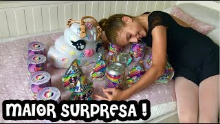MINHA MÃE FEZ MAIOR SURPRESA !BOLSA SLIME LUXO POOPSIE ! SPARKLY CRITTERS ! CUTIE TOOTIES SURPRISE !