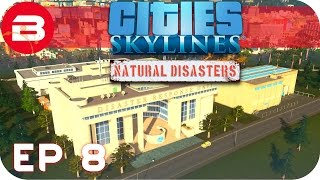 Cities Skylines Natural Disasters Gameplay - WHAT WILL HIT US NEXT!? (Hard Scenario) #8