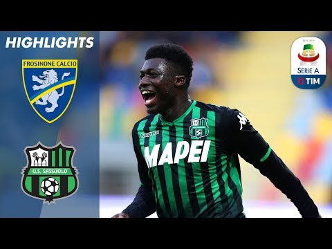 Frosinone 0-2 Sassuolo | Berardi on Target as Clinical Sassuolo Secure Away Victory | Serie A