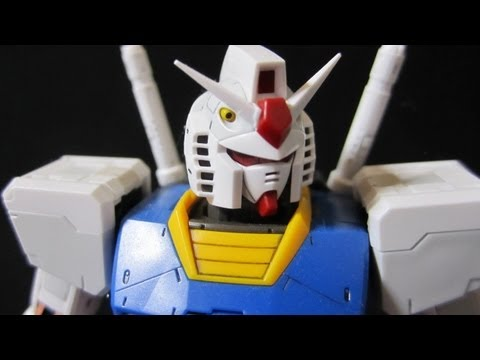 RG Gundam (Part 2: Contents) Real Grade 1/144 RX-78-2 gunpla review