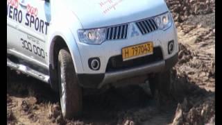 Тест драйв Mitsubishi Pajero Sport В Караганде