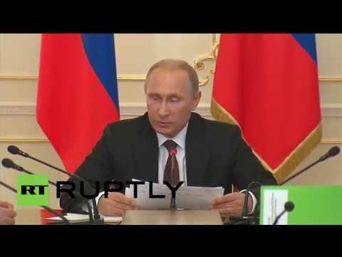 Russia: Putin discusses plan for future import substitution