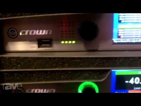 InfoComm 2013: Crown Audio Explains VTX System Components