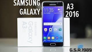 Обзор Samsung Galaxy A3 2016. Ну очень красивый.