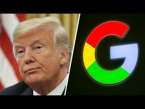 "Trump Mad at Google, Will Look at ""Regulating"" Search Results"