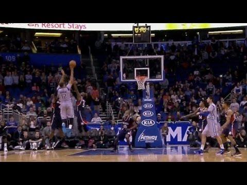 Tobias Harris game-winner buzzer-beater: Atlanta Hawks at Orlando Magic