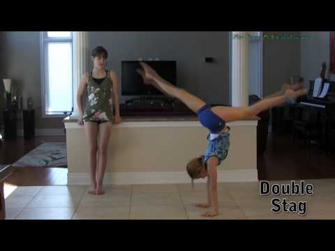 Handstand - How to do handstands tutorial - Gymnastics Video