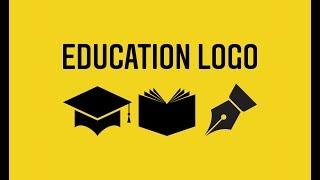 Education logo design tutorial Adobe Illustrator cc2018