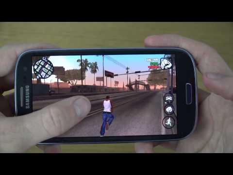 GTA San Andreas Samsung Galaxy S3 Neo 4K Gaming Review