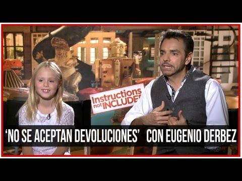 Instructions Not Included Triunfa En Taquilla Con $10 Millones! Eugenio Derbez Entrevista!
