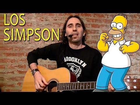 Como Tocar Los Simpson En Guitarra Acústica - Canciones Faciles En Guitarra Por Mario Freiria TCDG