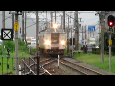 JR西日本 183系(485系改造) 特急きのさき 城崎温泉駅にて 20090730