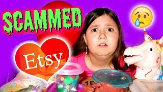 THE WORST SLIME PACKAGE EVER!! | Etsy Slime Package~skit