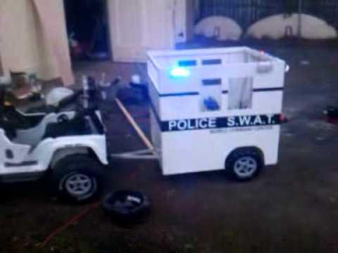 Power Wheels Trailer Power Wheels Police Trailer