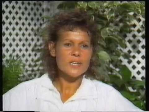 Evonne Goolagong Cawley Wimbledon 1990 interview