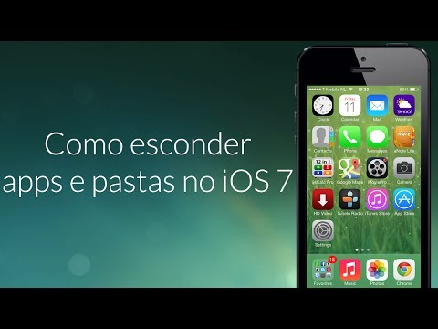 Como esconder apps e pastas no iOS 7 - Tutorial - iDN