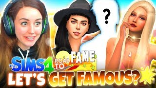 *NEW* ROAD TO FAME! 🌟 (The Sims 4 GET FAMOUS #1!🤩)