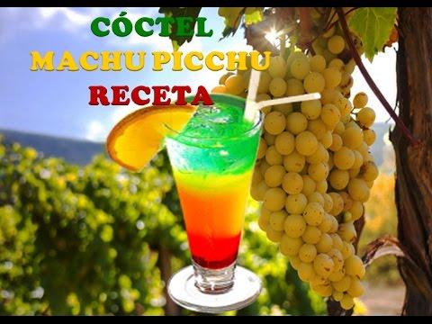 RECETA:MACHU PICCHU COCTEL,TRAGOS AÑO NUEVO 2012,TRAGOS CON PISCO, (diomedes arango)MUNDO PISCO