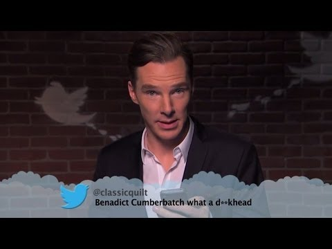 Benedict Cumberbatch & Matt Damon Read Mean Tweets On Jimmy Kimmel