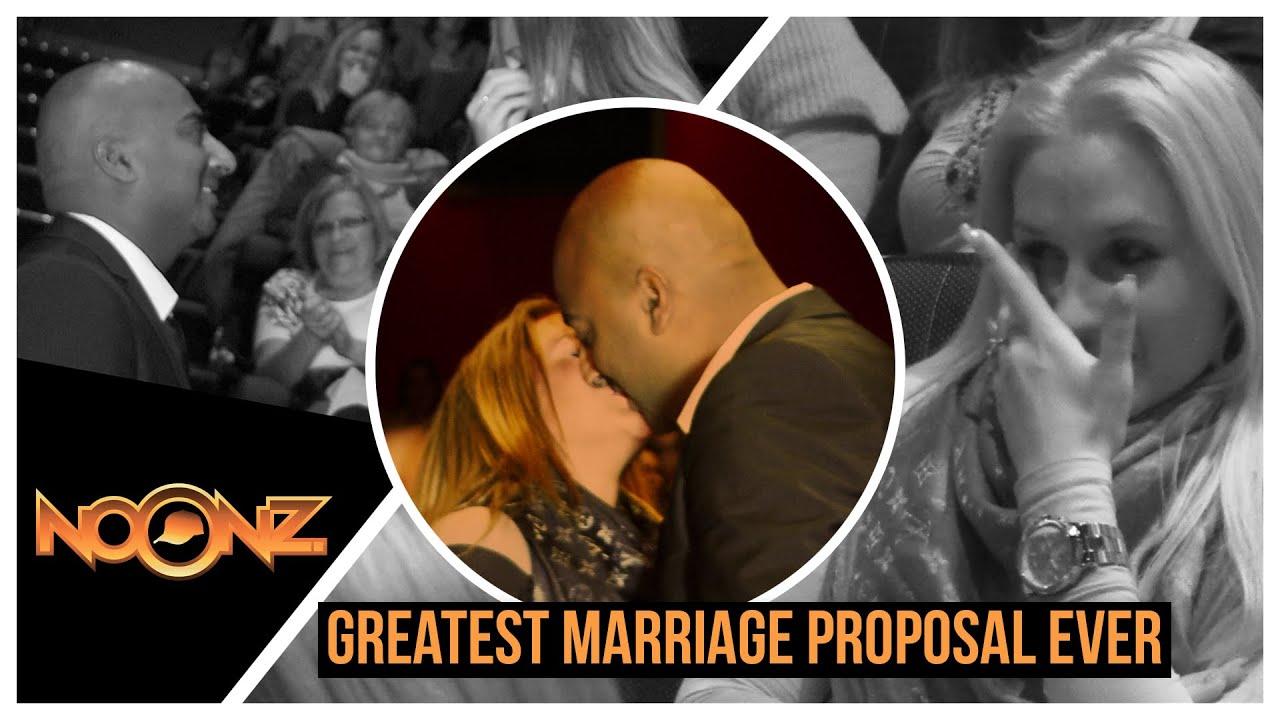 Une demande en mariage un peu hors du commun