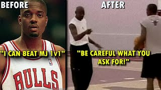When a RETIRED Michael Jordan DEMOLISHED an Arrogant Bulls ROOKIE!