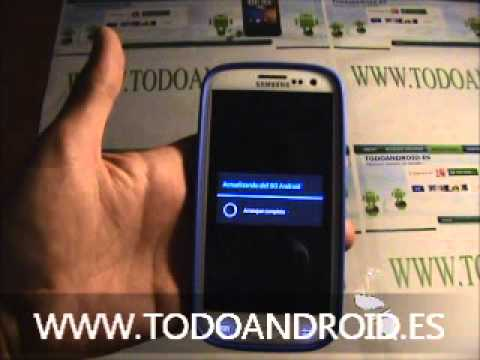 Actualizar el Samsung Galaxy S3 a Jelly Bean android 4.1.1  via OTA (on the air)