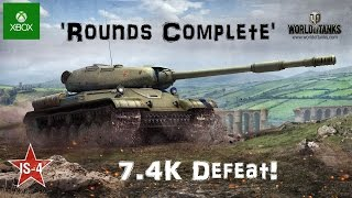 IS-4 -  'Rounds Complete' - World of Tanks Console ( Xbox / PS4 )